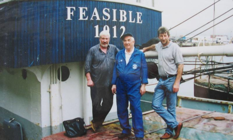 Feasible's owners on deck