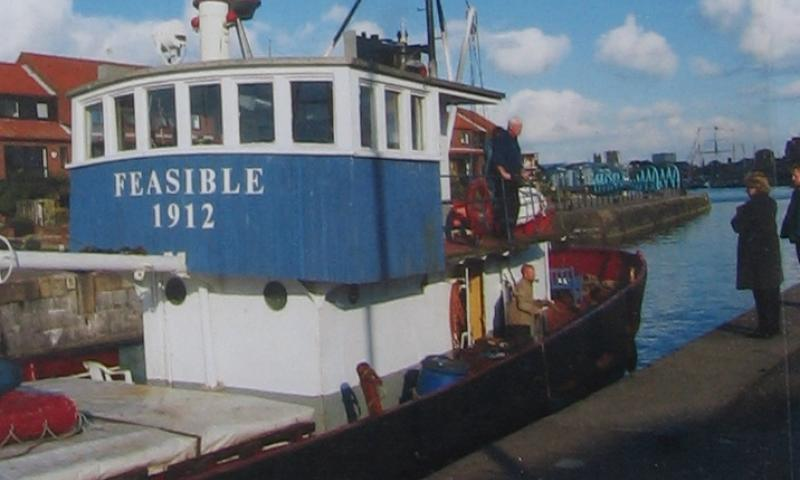Feasible port side - deckhouse