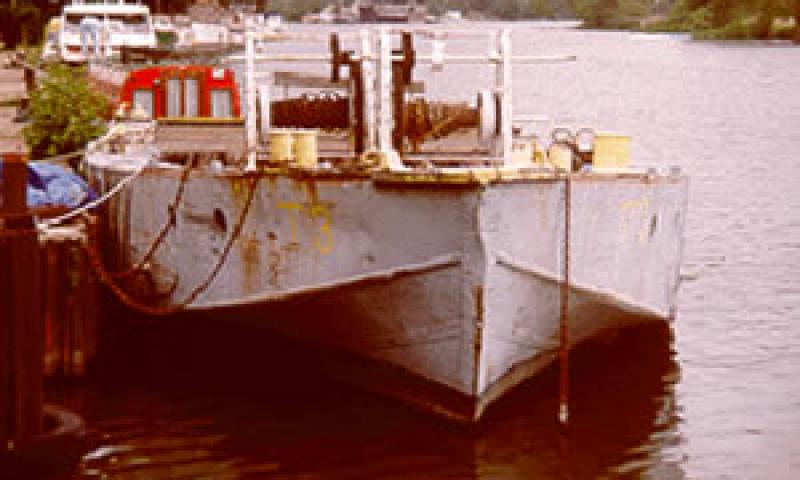 T3 - bow looking aft.