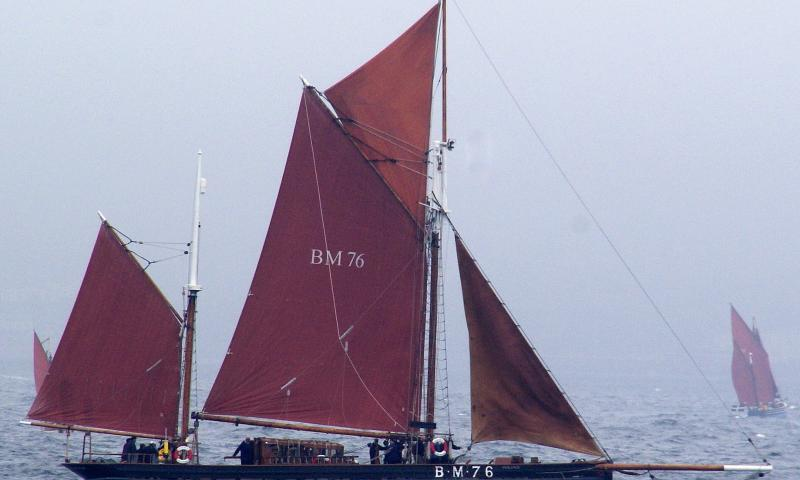 Photo Comp 2012 entry: Brixham sailing trawler - Vigilance BM76
