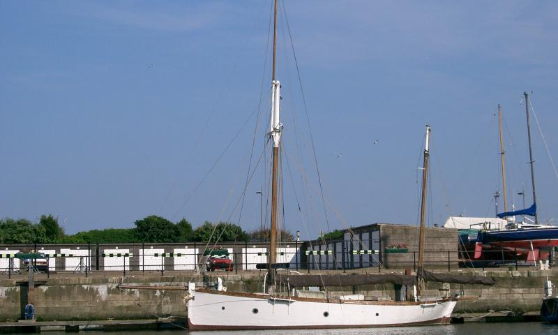 Nell - port side view