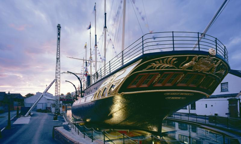 ss Great Britain - port quarter