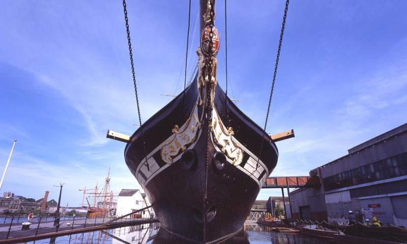 ss Great Britain - bow view