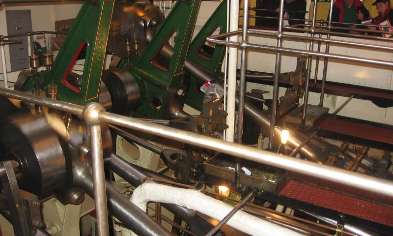 Waverley's engine room