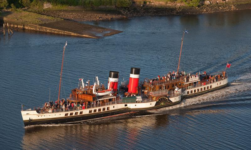 Paddle Steamer Waverley on the River Clyde - Photo Comp 2011 entry
