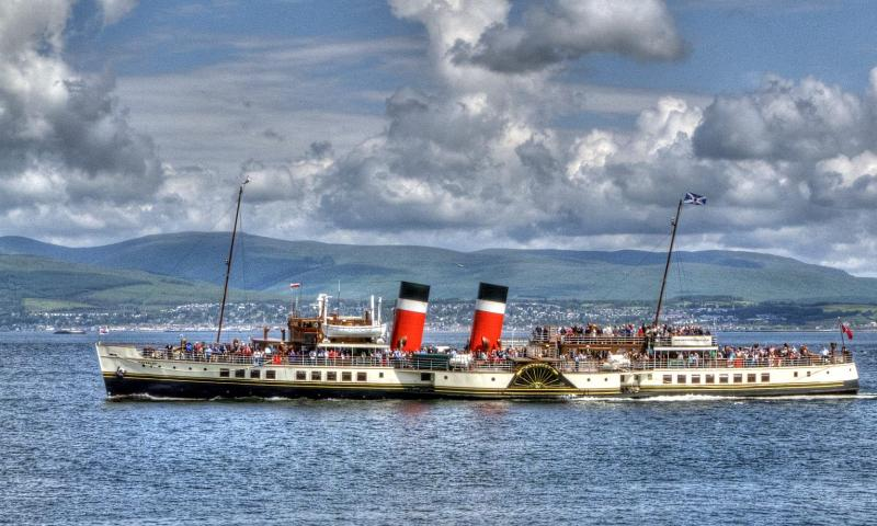 """Waverley"" on the Clyde - Photo Comp 2011 entry"