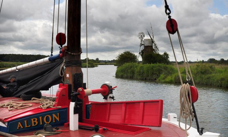 Photo Comp 2012 entry: Albion - Norfolk Broads