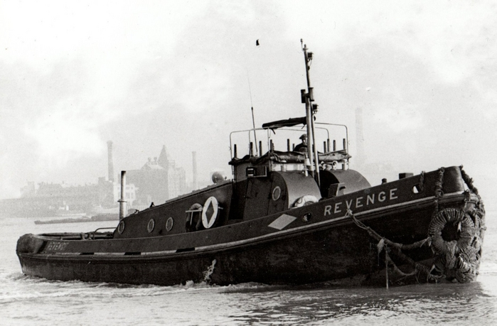 Revenge as built new in 1948