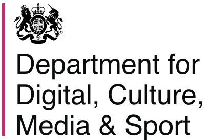 Department for Culture, Media, and Sport logo